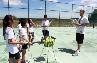 Squash & Tennis Court